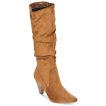 Sapatos Mulher Botas Moony Mood JULMA Castanho