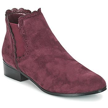 Sapatos Mulher Botas baixas Moony Mood JERMA Beringela