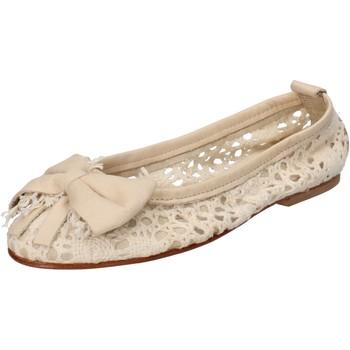 Sapatos Mulher Sabrinas Nu-Eva Sapatilhas AE20 Bege