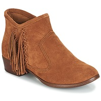 Sapatos Mulher Botins Minnetonka BLAKE BOOT Camel