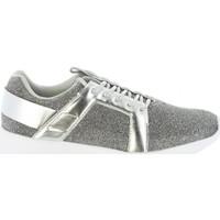 Sapatos Mulher Sapatilhas Bass3d 41436 GLITTER PLATA Plateado