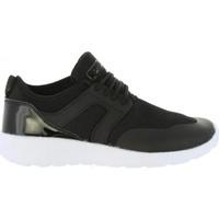 Sapatos Mulher Sapatilhas Bass3d 41481 REJILLA NEGRO Negro