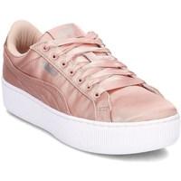 Sapatos Mulher Sapatos & Richelieu Puma Vikky Platform EP Cor-de-rosa