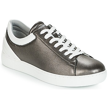 Sapatos Mulher Sapatilhas Emporio Armani BRUNA Estanho