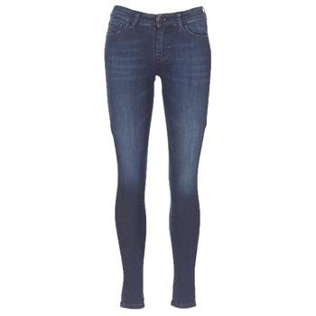 Textil Mulher Gangas Skinny Diesel SLANDY Azul