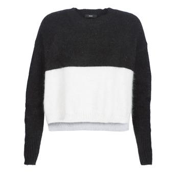 Textil Mulher camisolas Diesel M AIRY Preto / Branco