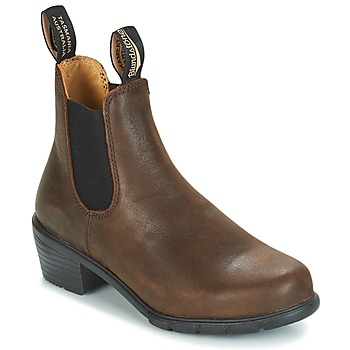 Sapatos Mulher Botas baixas Blundstone WOMEN'S HEEL CHELSEA BOOT 1673 Castanho