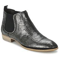 Sapatos Mulher Botas baixas Un Matin d'Ete TOBAGO Preto / Prata