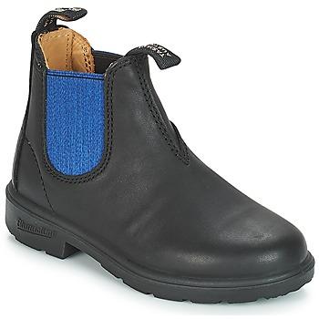 Sapatos Criança Botas baixas Blundstone KIDS BOOT Preto / Azul