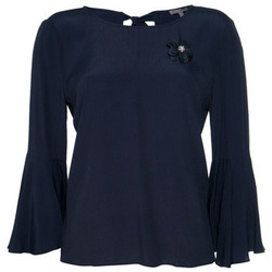 Textil Mulher Tops / Blusas Kocca Blusa THETHGOR BLUE Azul