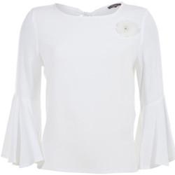 Textil Mulher Tops / Blusas Kocca Blusa THETHGOR WHITE Branco