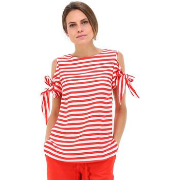 Textil Mulher Tops / Blusas Kocca Blusa NARY RED Vermelho