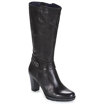 Sapatos Mulher Botas Dorking REINA Preto