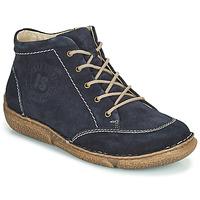 Sapatos Mulher Botas baixas Josef Seibel Neele 01 Marinho