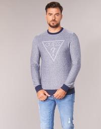 Textil Homem camisolas Guess TAMAC Azul