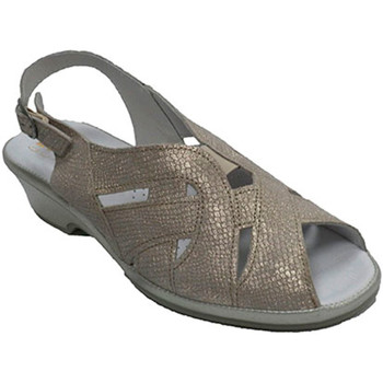 Sapatos Mulher Sandálias Made In Spain 1940 Sandália de mulher muito confortável Lum gris