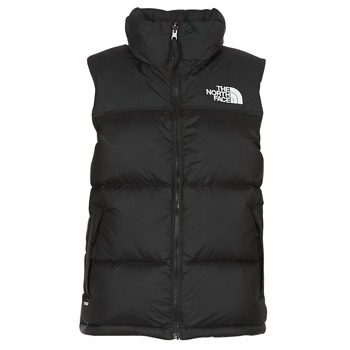 Textil Mulher Quispos The North Face NUPTSE VEST Preto
