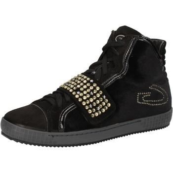 Sapatos Mulher Sapatilhas de cano-alto Guardiani AE827 Preto