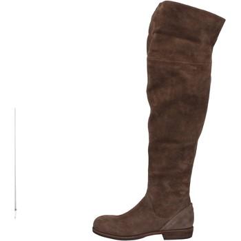 Sapatos Mulher Botas altas Vic Botas AE871 Castanho