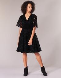 Textil Mulher Vestidos curtos Derhy DAMOISELLE Preto