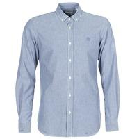 Textil Homem Camisas mangas comprida Serge Blanco 15 DOS Azul