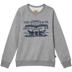 Textil Rapaz Sweats Levi's SWEAT CREWBLUE CHINA GREY cinza