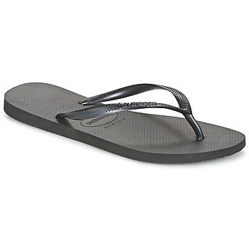 Sapatos Mulher Chinelos Havaianas SLIM Preto