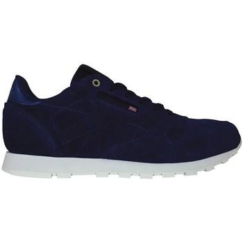 Sapatos Criança Sapatilhas Reebok Sport CL Leather Mcc Azul marinho