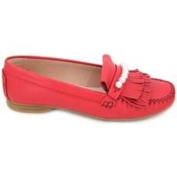 Sapatos Mulher Sapatos urbanos Sabrinas 89001 Mocasines de Mujer vermelho