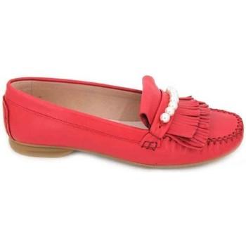 Sapatos Mulher Sapatos & Richelieu Sabrinas 89001 Mocasines de Mujer Vermelho