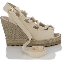 Sapatos Mulher Sandálias Mtbali Sandálias  Tacão Compensado - Ibiza Beige beige