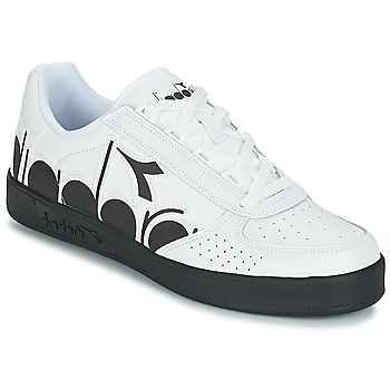 Sapatos Homem Sapatilhas Diadora B.ELITE BOLDER Branco / Preto