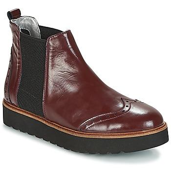 Sapatos Mulher Botas baixas Ippon Vintage HUNTER THICK Bordô