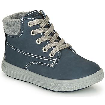 Sapatos Rapaz Botas baixas Primigi BARTH 19 Marinho / Cinza