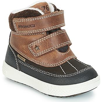 Sapatos Rapaz Botas baixas Primigi 2372600 PBZGT GORE-TEX Castanho