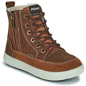 Sapatos Rapaz Botas baixas Primigi PCA 24130 Castanho