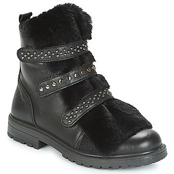Sapatos Rapariga Botas baixas Primigi (enfant) CHRIS Preto