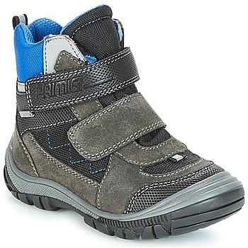Sapatos Rapaz Botas de neve Primigi PNA 24355 GORE-TEX Cinza / Azul