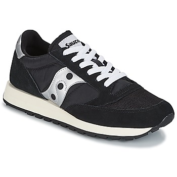 Sapatos Sapatilhas Saucony JAZZ ORIGINAL VINTAGE Preto / Branco