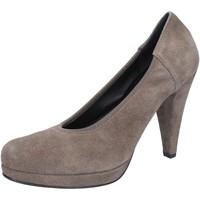 Sapatos Mulher Escarpim Calpierre Sapatos de salto AJ405 Bege