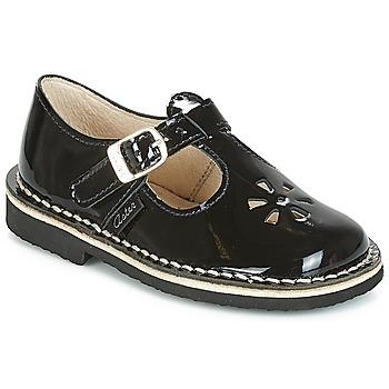 Sapatos Rapariga Sabrinas Aster DINGO Preto / Verniz