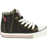 Sapatos Criança Sapatilhas de cano-alto Levi's VTRU0004T ORIG Negro
