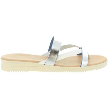 Sapatos Mulher Sandálias Cumbia 20573 Plateado