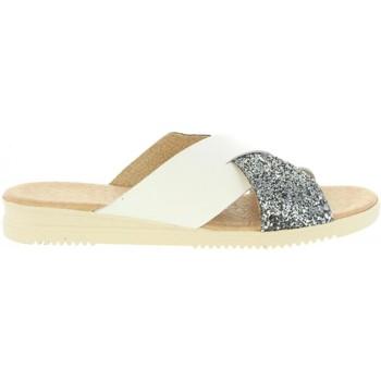 Sapatos Mulher Sandálias Cumbia 20571 Plateado