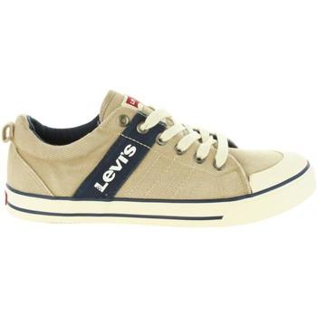 Sapatos Criança Sapatilhas Levi's VALB0006T ALABAMA Beige