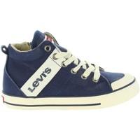 Sapatos Criança Sapatilhas Levi's VALB0001T ALABAMA HI Azul