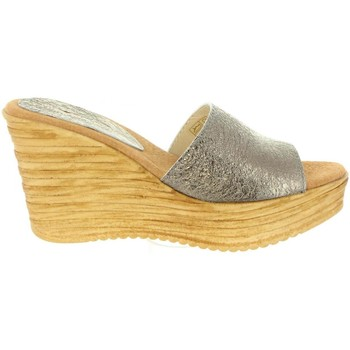 Sapatos Mulher Sandálias Cumbia 31000 Plateado