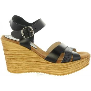 Sapatos Mulher Sandálias Cumbia 31001 Negro