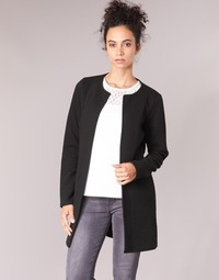 Textil Mulher Casacos/Blazers Vila VINAJA LONG Preto