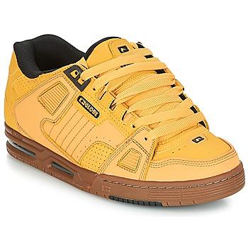 Sapatos Homem Sapatilhas Globe SABRE Amarelo